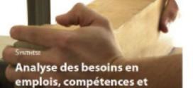 Analyses des besoins en emplois, compétences et formation pour la filière bois de Bretagne