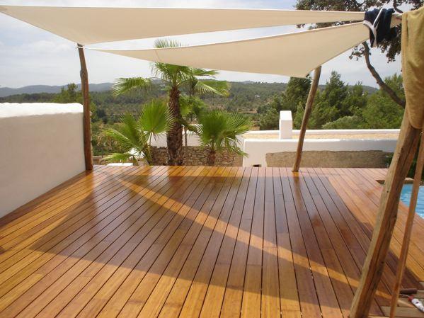 terrasses en bambou. Black Bedroom Furniture Sets. Home Design Ideas