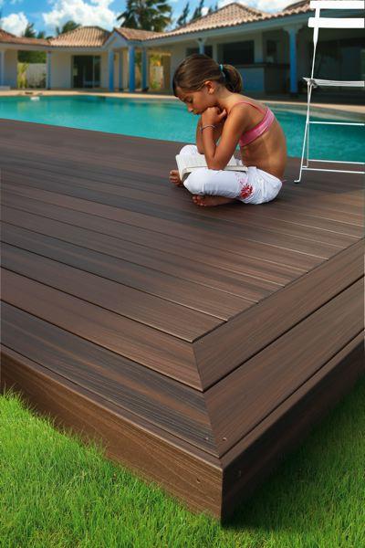 bois composite avec finition imperm abilisante. Black Bedroom Furniture Sets. Home Design Ideas