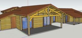 Maisons modulaires en pin des Landes