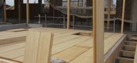 Nouveauté Eurobois 2013 : plancher et support de couverture en bois lamellé-collé