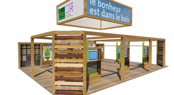 La fili re for t bois fran aise fait sa promotion au salon - Salon internationale de l agriculture ...