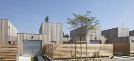 Maisons individuelles Couëron bardage bois