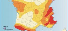 Aléa sismique de la France