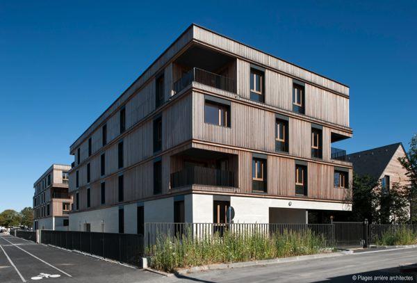 les 9 laur ats du prix bois construction et environnement. Black Bedroom Furniture Sets. Home Design Ideas