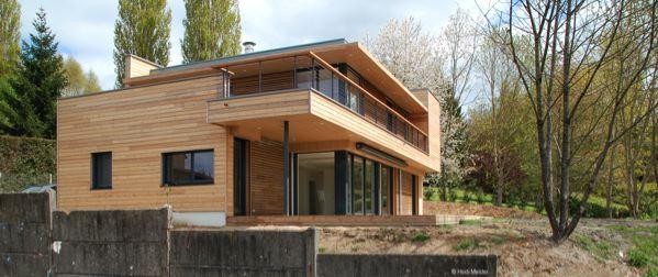 Les 9 laur ats du prix bois construction et environnement de basse normandie ont t d voil s for Maison en bois prix construction