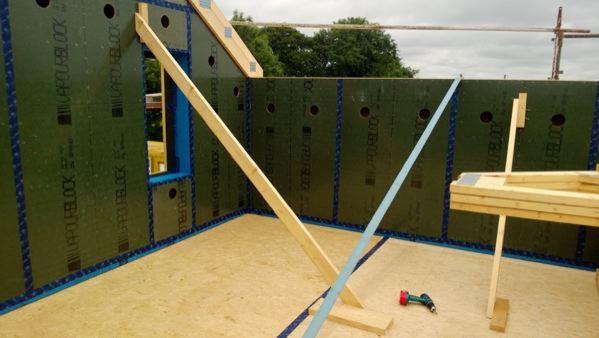 panneau structurel avec pare vapeur int gr woodsurfer. Black Bedroom Furniture Sets. Home Design Ideas
