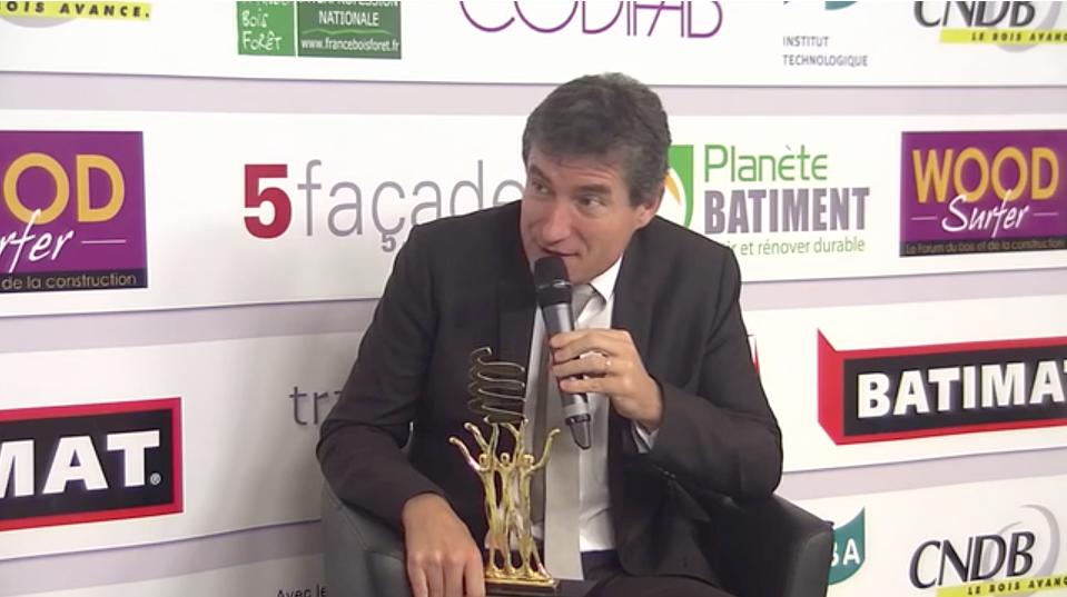 François Pelissier président de Techniwood