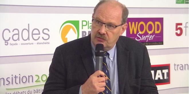 Philippe Roux , président de la FFB-CMP sur le plateau TV transition 2020