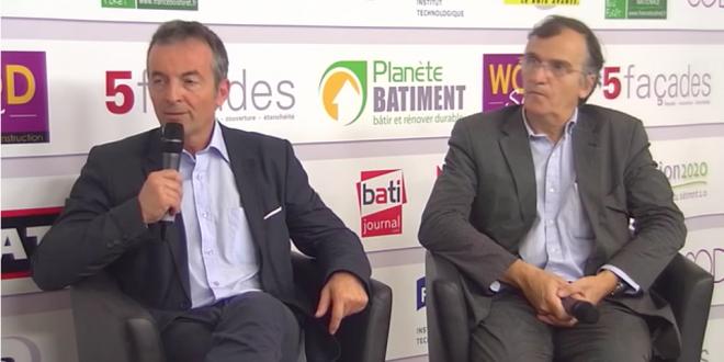 Michel Perrin et François Pélegrin sur le plateau TV de Transition 2020