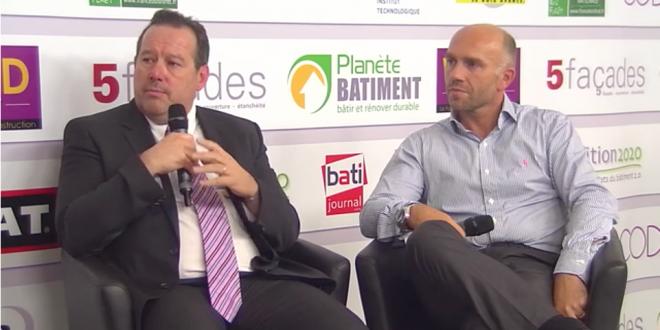 Daniel Coulon et Stéphane Vivès sur le plateau TV de Transition 2020