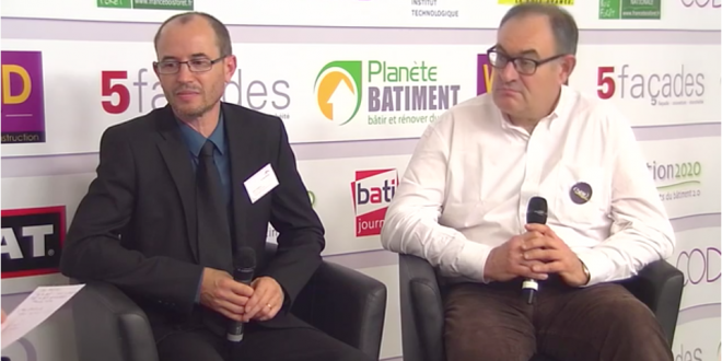 Rémy Delecluse et Éric Fastrez sur le plateau TV de Transition 2020