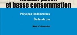 Livre habitat passif et basse consommation