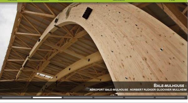Site internet portail du bois lamellé