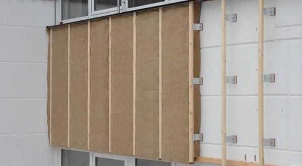 Isolation thermique par l'extérieur en chanvre