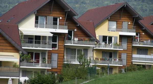 Immeubles façades bois
