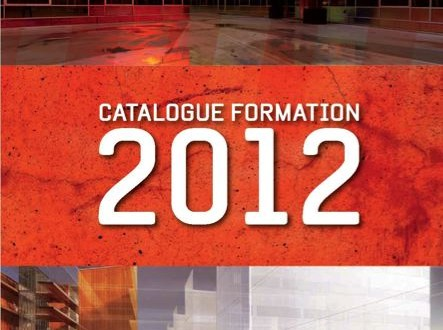 Catalogue Formation 2012