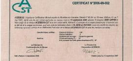 Certification Acerbois