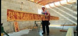 ouvrier chantier charpente