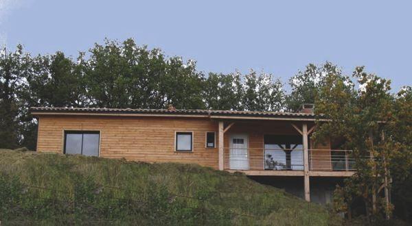 maisons bois bioclimatiques passives 100 000 euros. Black Bedroom Furniture Sets. Home Design Ideas
