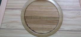 grille de ventilation bois