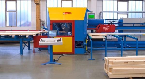 machine usinage charpente