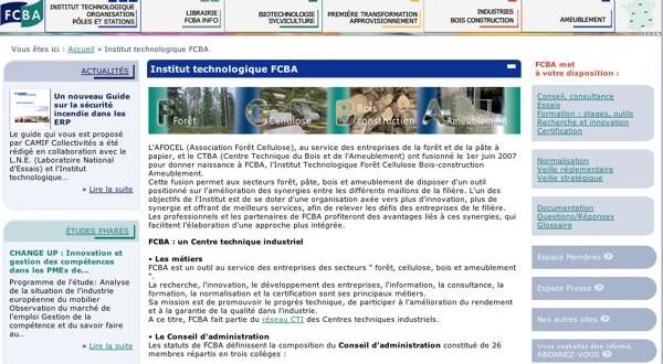 Site FCBA