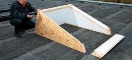 cadre pose fenêtre de toit