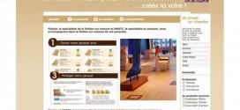 site internet parquet