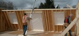 Chantier construction bois
