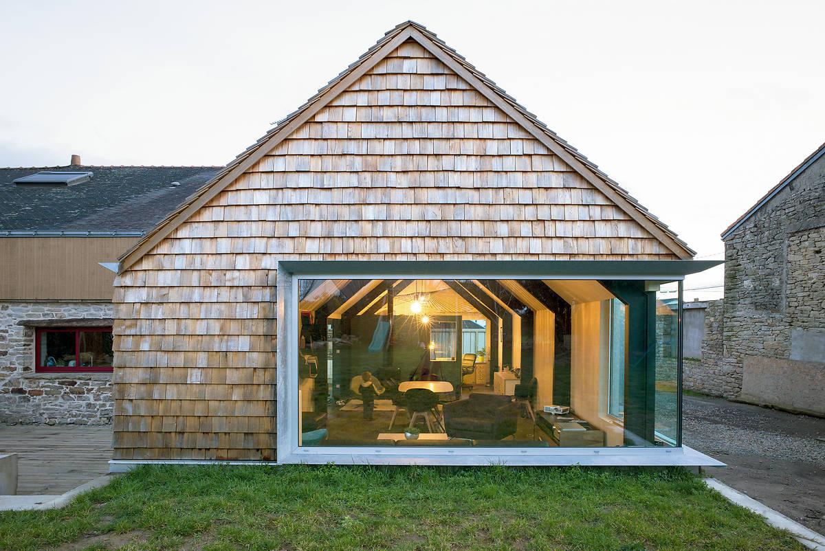 Construction bois en pays de la loire les laur ats 2015 for Prix extension en bois de 25m2